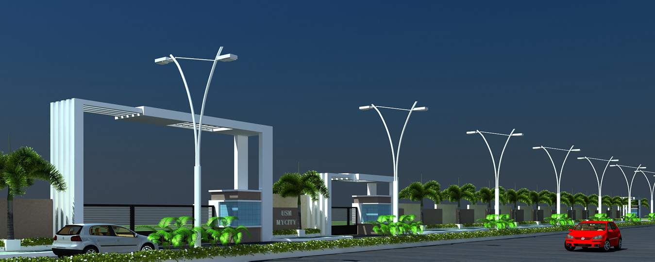 Entrance Compound Wall New Size